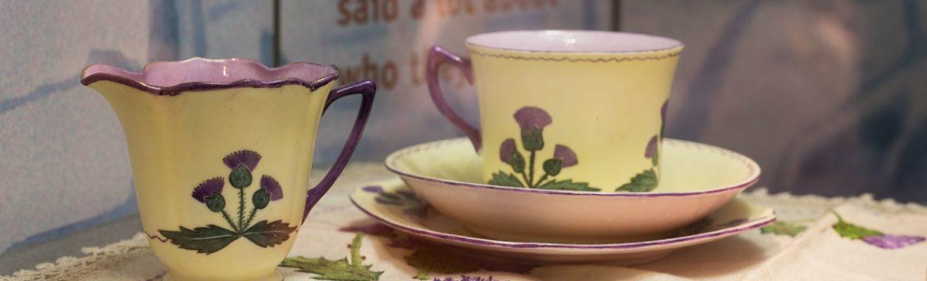 Image: Scottish tea set