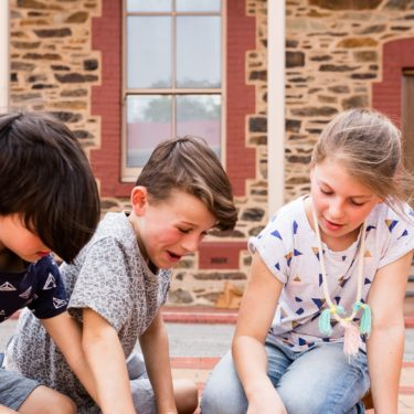 Children at the Migration Museum