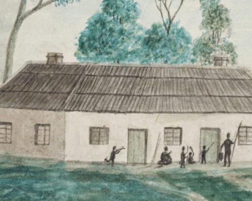 Cawthorne Sketch 1843